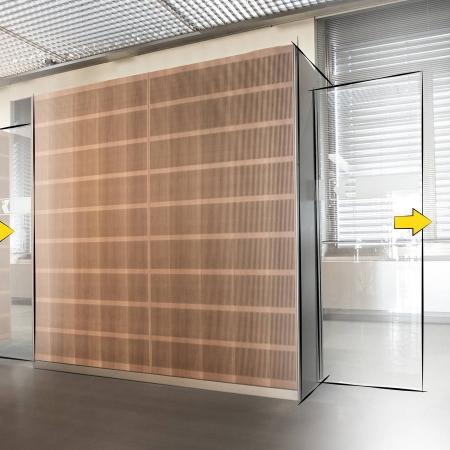 Pintu Otomatis Invisible Technology